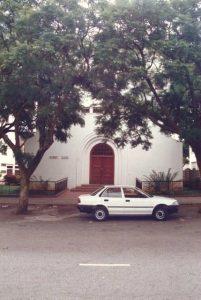Escritório da Fundação Ford em Harare, em 1989