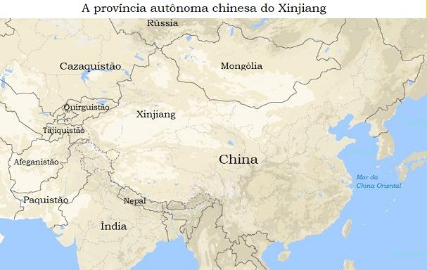 Uigures na China de Ping