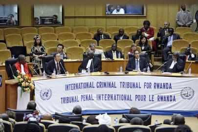 essão do Tribunal Criminal Internacional para Ruanda