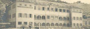 Escola Superior de Guerra, em foto de 1950. Atualmente Instituto de Altos Estudos de Política, Estratégia e Defesa, diretamente ligado ao Ministério da Defesa
