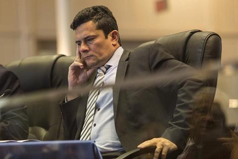 O ex-juiz Sérgio Moro, ministro da Justiça do governo Bolsonaro