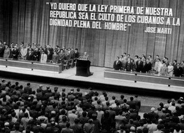 NOVA CONSTITUIÇÃO CUBANA REJEITA A PLURALIDADE (25/3/2019)