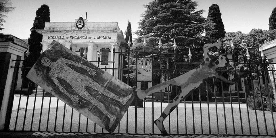A Escola Superior de Mecânica da Armada (ESMA), em Buenos Aires, foi o principal centro de tortura da ditadura argentina, foi transformada em centro de memória