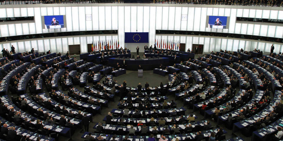Parlamento Europeu, em Estrasburgo (França)