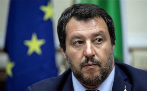 Matteo Salvini, o chefe de fila da direita nacionalista europeia