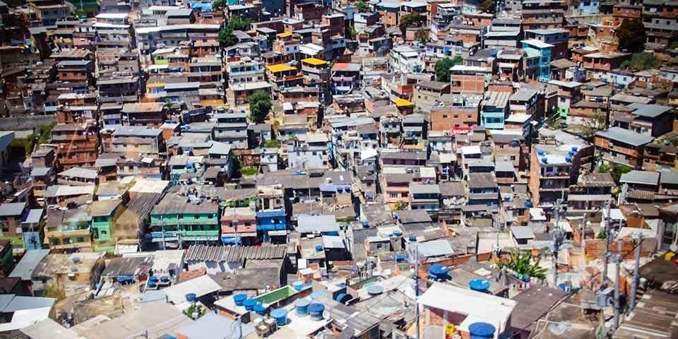 Favela do Complexo da Maré, no Rio de Janeiro