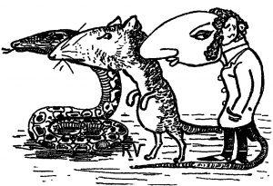 Existem centenas de ilustrações desse tipo associando os judeus a uma natureza animalesca