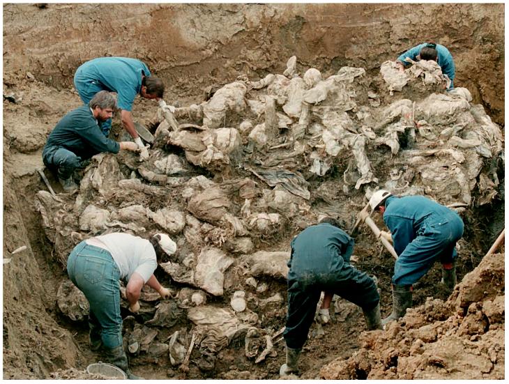 Vala comum. Guerra civil iugoslava