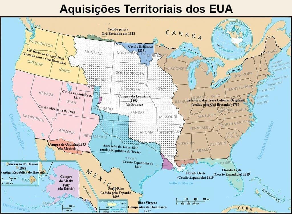 Aquisições territoriais dos EUA
