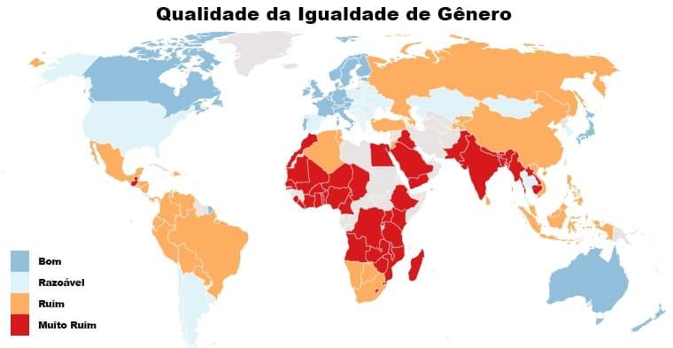 Qualidade da igualdade de gênero