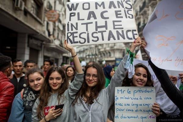 As incríveis mulheres da Argélia