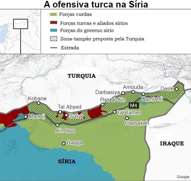 Ofensiva turca na Síria