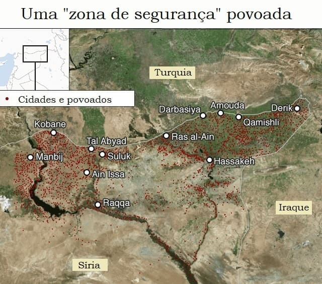 Curdos enfrentam espectro da limpeza étnica
