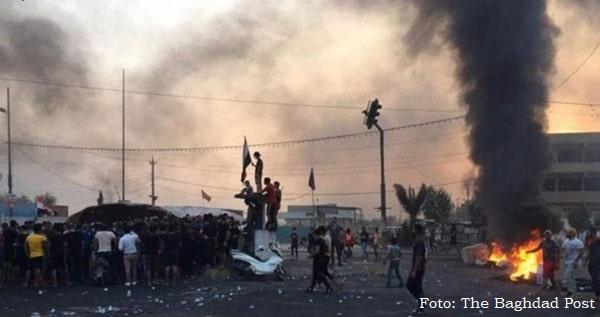 Protestos no Iraque