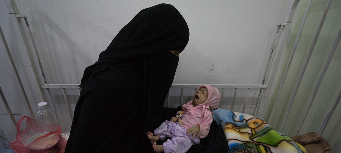 Morrendo de fome no Iêmen